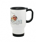 Frosty Palace Reusable Travel Coffee Mug Based on Grease